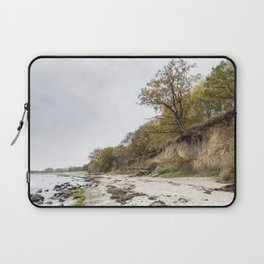 Along The Cliff On Baltic Sea Laptop Sleeve