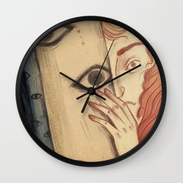 The Watching Forest Wall Clock