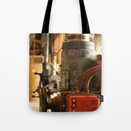 Heavy Industry - Old Machines Tote Bag