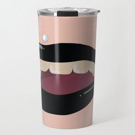 Black Lips Travel Mug
