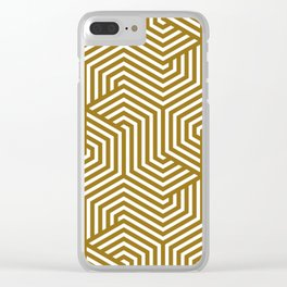 Sand dune - brown - Minimal Vector Seamless Pattern Clear iPhone Case