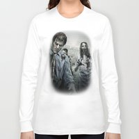 walking dead Long Sleeve T-shirts featuring Zombie by Joe Roberts