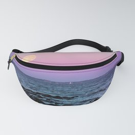 Full Moon on Blue Hour Fanny Pack