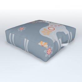 Nordic Winter Outdoor Floor Cushion
