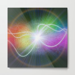 New Beginnings From The Void Metal Print