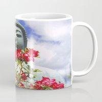 buddah Mugs featuring Buddah Serenity by Magmata