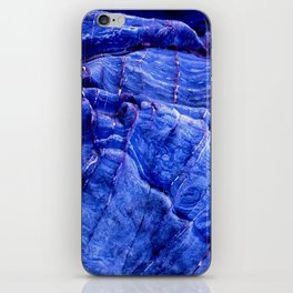 BLUE STONE TEXTURES iPhone Skin