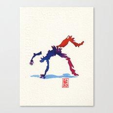 Capoeira 357 Canvas Print