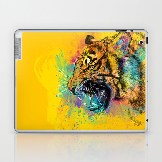 Angry Tiger Laptop & iPad Skin