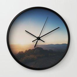 mountain road ... Wall Clock