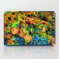 chandelier iPad Cases featuring Chandelier by Peta Herbert