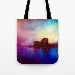 Eilean Donan Castle Sunset Tote Bag