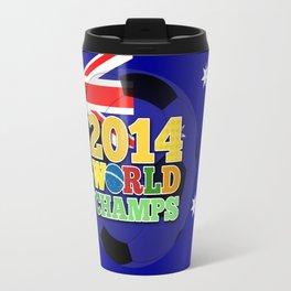 2014 World Champs Ball - Australia Travel Mug