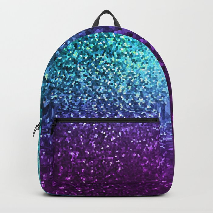 Mosaic Sparkley Texture G198 Backpack