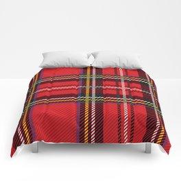red kilt Comforters