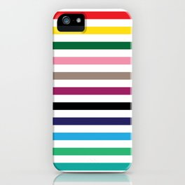 London Underground Tube Lines iPhone Case