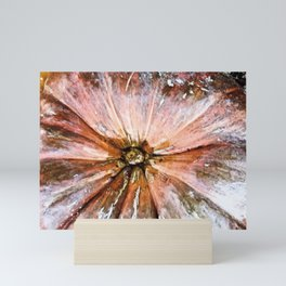 Abstract PumpKin1 Mini Art Print