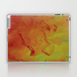 Flower | Flowers | Fading Flower | Red Abstract Laptop & iPad Skin