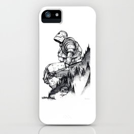 Iron Giant poster iPhone Case