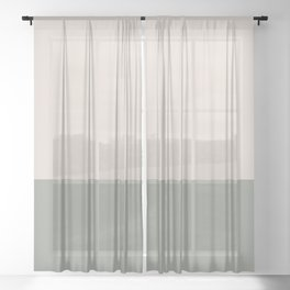 SAND x SAGE III Sheer Curtain