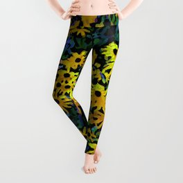 Black-Eyed Susans Leggings