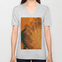 From the Deep Unisex V-Neck