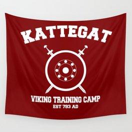Kattegat - Viking training camp Wall Tapestry