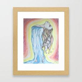 Basking in the Glow Framed Art Print