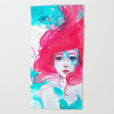 Ariel, The Little Mermaid Beach Towel