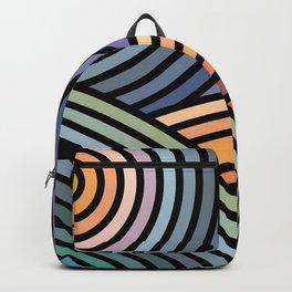 Hypnotic landscape Backpack