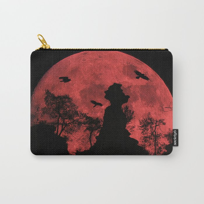Red moon rock Carry-All Pouch
