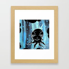 Happy Octopi Framed Art Print