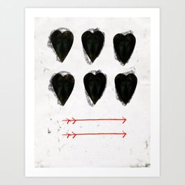 CUORE Art Print