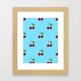 Cherry Framed Art Print