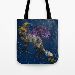 Midnight Vixen Tote Bag