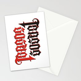 Terror Suspect Stationery Cards