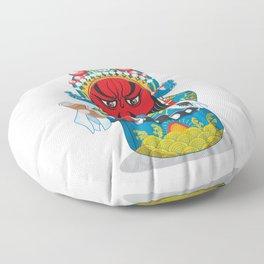 Beijing Opera Character GuanYu Floor Pillow