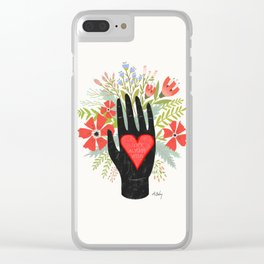 Love Wins Clear iPhone Case