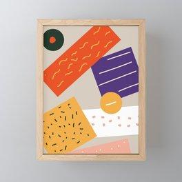 Organic Framed Mini Art Print