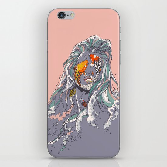 Koi and Raised iPhone & iPod Skin