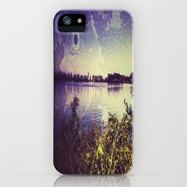 Surf lake Laupheim iPhone Case