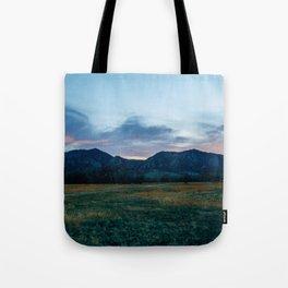 Boulder Sunset Tote Bag