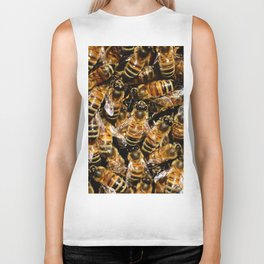 Honey Bees Biker Tank