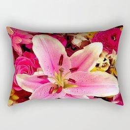 Flower mix Rectangular Pillow