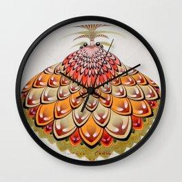 angel butterfly Wall Clock