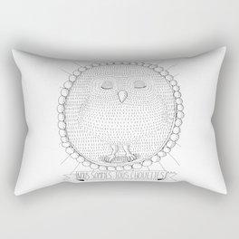 Chouette! Rectangular Pillow