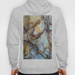 Natural turquoise and gold stone Hoody