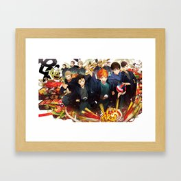 Karasuno Team Framed Art Print