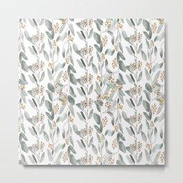 Eucalyptus stripes Metal Print