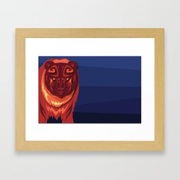 """Mathuin in Vector"" by Paper Laine Framed Art Print"